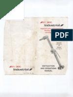 Manual de Equipo de Oxicorte BOC Industrial