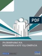2012 Razbiranje Na Kriminalot Od Omraza