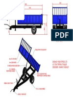 6.5 Ton Tipping Trailer Assembly Overview