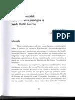 COSTA ROSA Atencao Psicossocial Novo Paradigma Na Saude Mental Coletiva