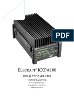E740199 KXPA100 Owner's Manual Rev A5