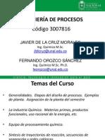 Charla 1. Ing. de Procesos 2014-03