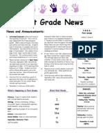 9 5 14 newsletter