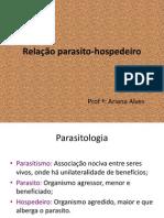 44256200 Aula 2 Relacao Parasito Hospedeiro