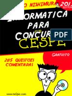 285 questões comentadas de Informática do CESPE - www.informaticadeconcursos.com.br