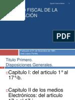 Disposiciones Generales.