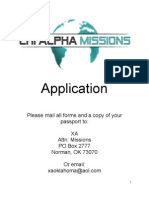 XA Costa Rica Missions Application- word document