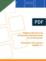 Alineacion Del Examen Saber 11