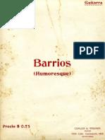 Humoresque Agustin Barrios