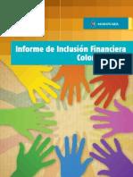 Informe de Inclusión Financiera 2012