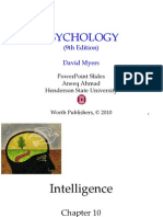 Psy David G Myers - Ch 9 Intelligenc
