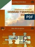 5 Densidad y Gravedad Especifica Del Gas Natural