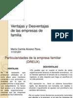 Empresas de Familia Ventajas y Desventajas