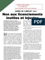 Bulletin Du SNJ-CGT Du 9 Decembre 2009