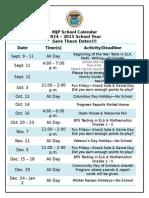 MJP Family Calendar 2014-2015
