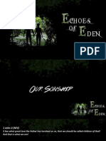 Echoes of Eden 6 - Our Sonship