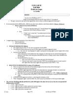 Constitutional Law II - Lupu - Fall 2004 - 2