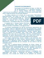 o Esperanto Em Pernambuco