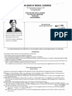 MERRI MORRIS, M.D. ARIZONA LICENSING APPLICATIONS