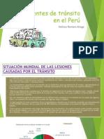 Accidentes de Transito en El Perú