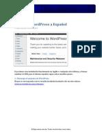 Cambiar WordPress Al Espaniol