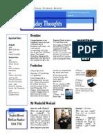 Newsletter 21-08-2014