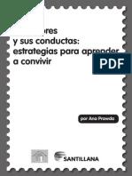 Cuadernillo Los Valores y Sus Conductas