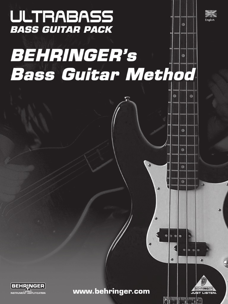 Behringer Bass Guitar Method Chord Music String Instruments