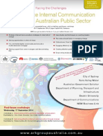 Best Practice Internal Communication within the Australian Public Sector