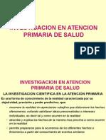 Investigacion en APS