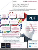 Process Improvement and Transformation - BPM 2014