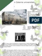 Mediateca en Dalarna Universidad, Falun