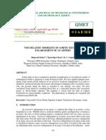 39 (Ijmet) Viscoelastic Modeling of Aortic Excessive Enlargement of an Artery-1