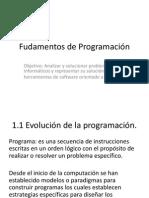 Unidad 1 Fundamentos de POO x