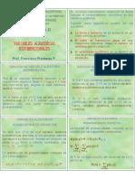 Variables Aleatorias Bidimensionales 1