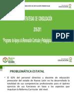 Estrategias de Consolidacion a La Reforma