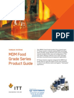 Torque Systems MDM Food Grade Series Product Guide