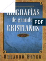 Biografias de Grandes Cristianos Orlando Boyer