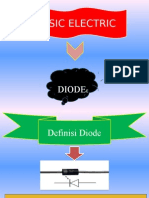 Presentation Basic Electric ( Diode)
