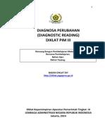 Bahan Ajar Diagnosa Perubahan Pim III