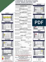 2014-2015 school calender