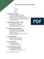IEEE ConceptOfOperations Outline