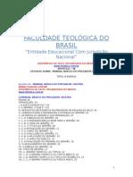 Apostila 48 - Manual Básico Do Pregador Cristão Da Fatebra