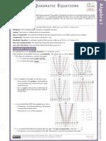 graphing quadratic functions study gruide