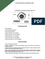 Manual Kit Motor AP x Cambio Chevette