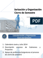Organización Junio-julio CF