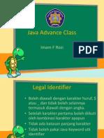 Java Advance Class