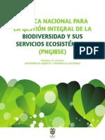 010812 PNGIBSE 2012-Politica de Biodiversidad