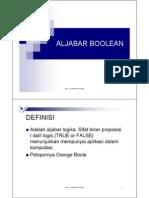 Aljabar Boolean Pdrereeee