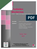Monografía ciudades modernas
